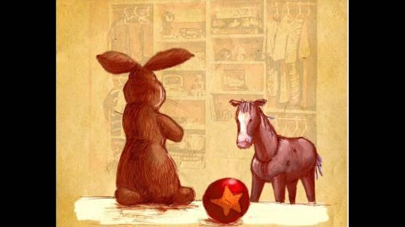 velveteen rabbit & skin horse