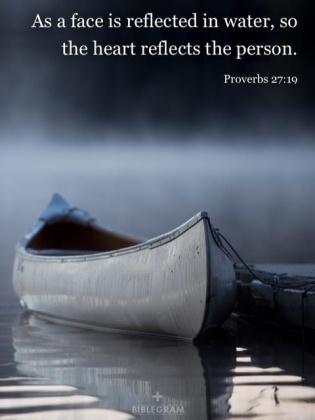 Proverbs 27.19