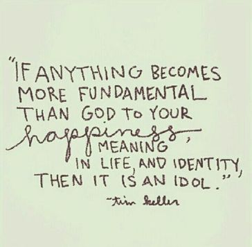 tim keller idol